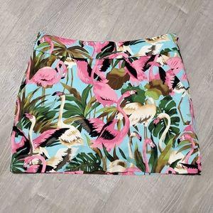 Loudmouth Ladies golf skirt Flamingo size 4